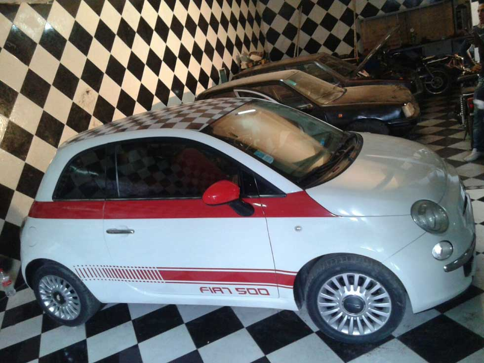 Publicité sur voiture Maroc